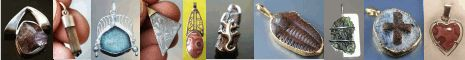 Pendant-World.com: Moldavite and other semiprecious stone jewelry